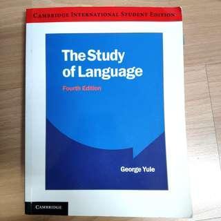 🚚 The study of language 語言學概論