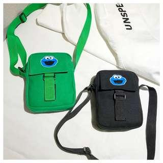 Mini Cookie Monster Sling Bag