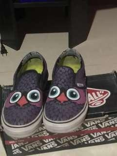 Authentic vans limited edition hoot owl
