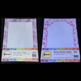 FANCY BORDER PAPER