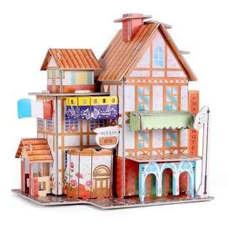 3D 拼圖 立體小屋