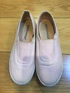 Superga pink sneakers