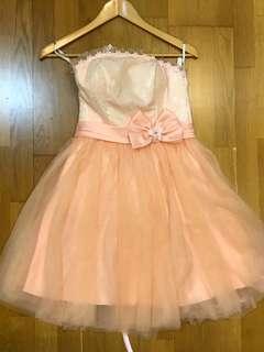 Sweet pink dinner dress