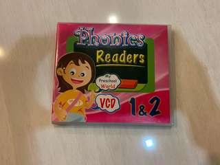 🚚 Phonics Reader VCD
