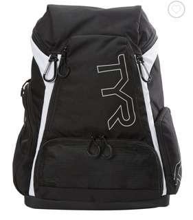 🚚 Brand new TYR alliance 30L backpack black and white