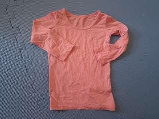 Uniqlo Heattech Longsleeves Pink Size 80