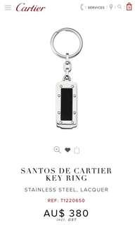 Cartier Santos Key Ring