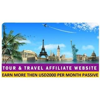 FULLY AUTOMATED TRAVEL AFFILIATE WEBSITE FOR PASSIVE INCOME