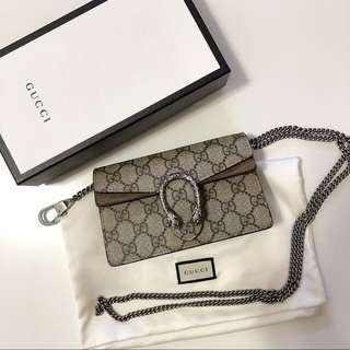 Gucci dionysus mini premium quality worn once only in good condition like new babe