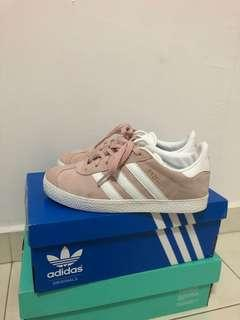 Pink Adidas Gazelle Children