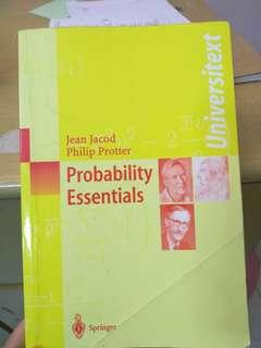🚚 Probability Essentials Jacod, Protter