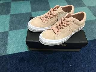 🚚 Converse one star OX 1970 (158481C) 麂皮 灰粉