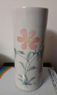 高12吋清雅手繪花瓶