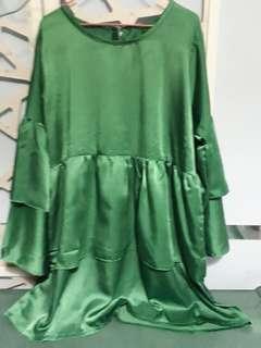 🚚 Green Blouse 3XL