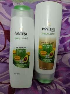 Shampoo & Conditioner Pantene Fullness and Life
