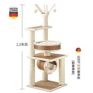 高品質舒適樹枝型貓架