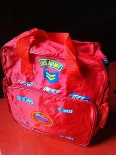Vintage school bag
