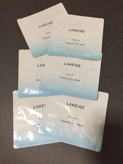 Last set!! 6x Laneige White Dew Intensive Eye Mask