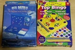 Battleship and Bingo