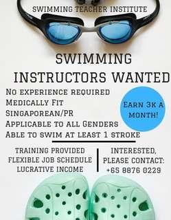 Swimming Trainee (Trainer) Position