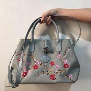 Longchamp handbag dual handle