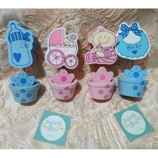 Baby Themed Memo Clips