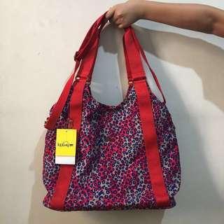Kipling printed bag Large