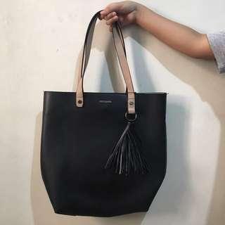 CMG Leather bag large