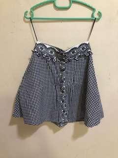 Bottom up A-line skirt