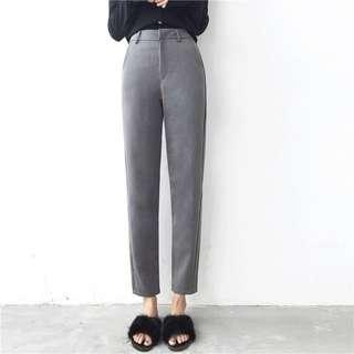 🚚 BN Female High Quality High-Waisted Long Working Pants