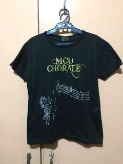 MCU chorale black shirt