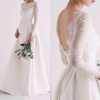 Wedding gaun