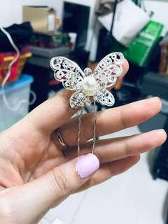 Butterfly hair's pin
