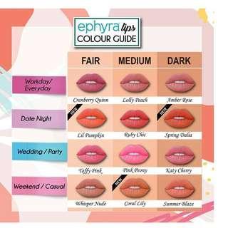 Ephyra Matte Color
