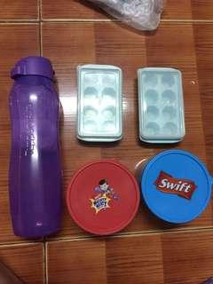 For Take All. (Tupperware, Swift Containers and Ice Dispenser)