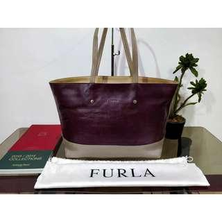 Furla Saffiano Leather Tote bag Authentic