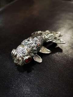 925 Silver fish pendant
