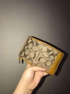 Coach Mini fold Wallet