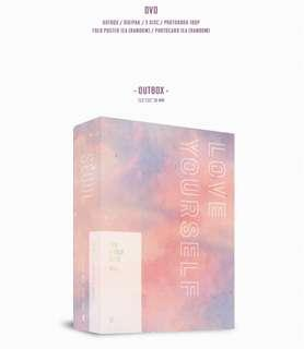 WTS PHOTOBOOK BTS LY TOUR DVD LOOSE