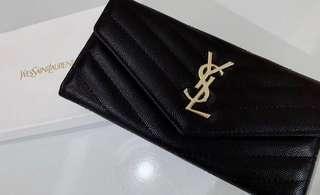 Ysl wallet clutch