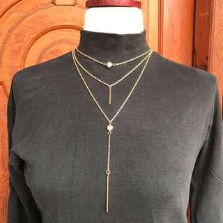 Kalung layer bohemian import