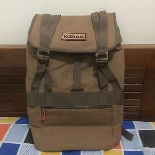 SPECIAL PRICE!!! KABOA Khaky Ransel Bag Original + Free Pouch