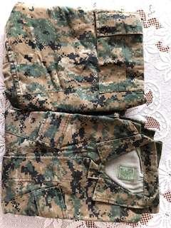 Digital Marpat Fatigue uniform