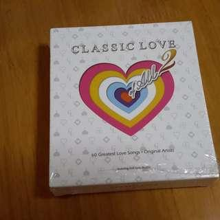 經典英文歌Classic love 2 三CD