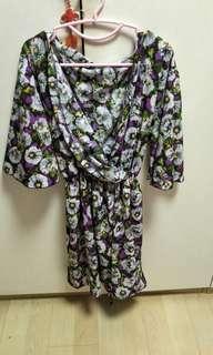🚚 Floral kimono plus size