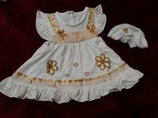Stelan dress bayi