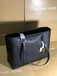 Michael Kors large zip tote bag