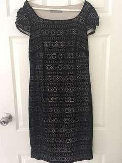 Marks and Spencer black dress