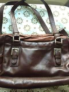 Genuine Leather Handbag (Made in Argentina)
