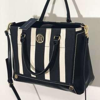 Tommy Hilfiger 2 way satchel bag